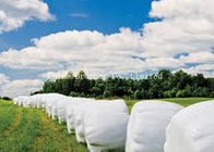 160 Gsm PP Woven Plastic Hay Bale Covers Moisture Proof For Wrapping Alfalfa Hay