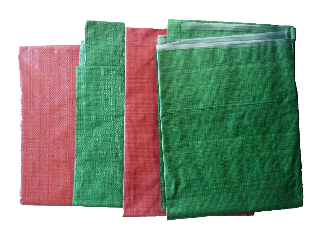 Recycled Polypropylene PP Woven Sack Bags for Grain , Barley , Flour Packing